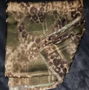 Nordstrom Polyester Leopard Scarf Wrap